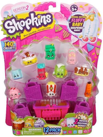 Shopkins Season 2 Mini Figure 12-Pack