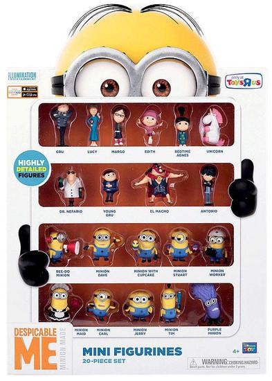 Despicable Me Minion Made Mini Figurines 20-Piece Set Exclusive 2-Inch