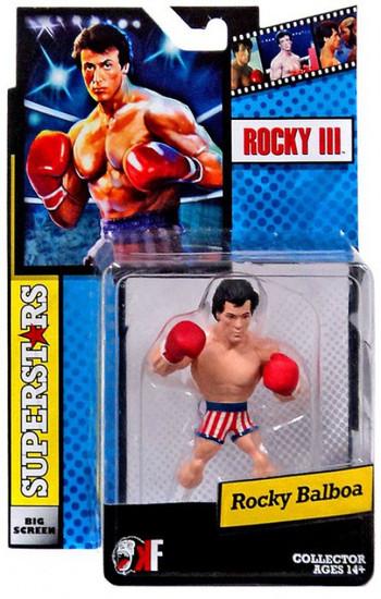 Rocky III Big Screen Superstars Rocky Balboa Mini Figure [USA Trunks]