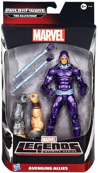Avengers Marvel Legends Allfather Series Machine Man Action Figure [Avenging Allies]
