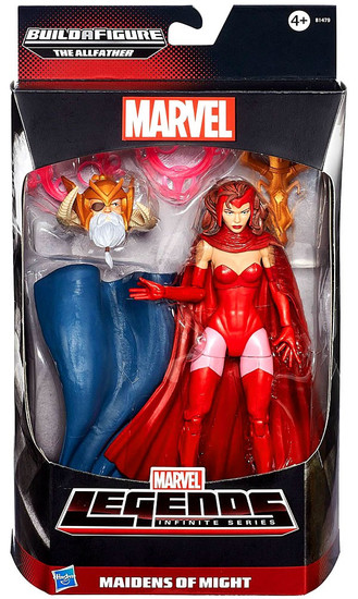 Avengers Marvel Legends Allfather Series Scarlet Witch Action Figure [Maidens of Might]