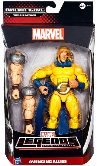 Avengers Marvel Legends Allfather Series Sentry Action Figure [Avenging Allies]