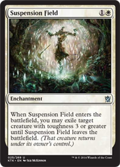 MtG Khans of Tarkir Uncommon Foil Suspension Field #25
