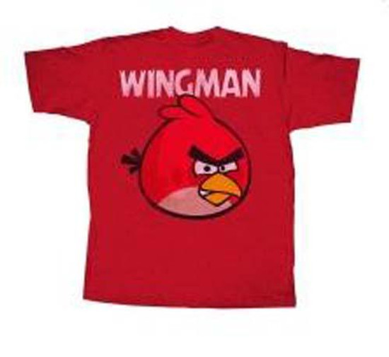 Angry Birds Wingless T-Shirt [Red, Adult XXL]