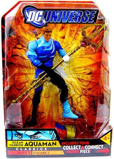 DC Universe Classics Atom Smasher Series Aquaman Action Figure #1 [Blue Costume, Damaged Package]