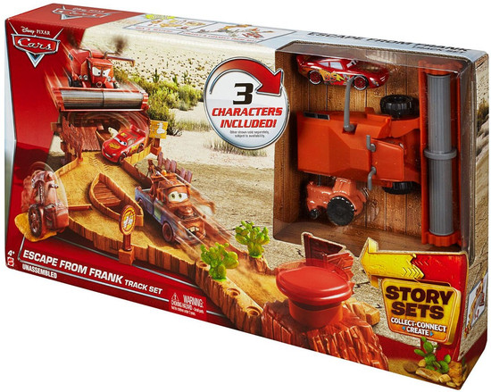 Disney / Pixar Cars Story Sets Escape from Frank Playset