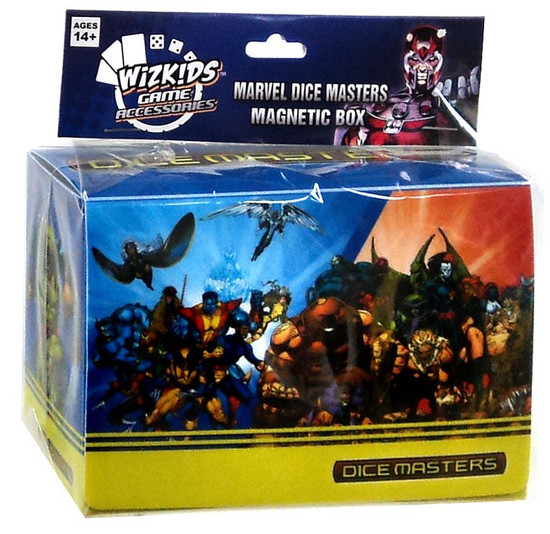 X-Men Marvel Dice Masters Magnetic Box