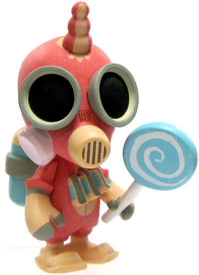 Team Fortress 2 Portable Mercs Pink Balloonicorn Pyro 3-Inch Chase Figure Mini Figure [Loose]