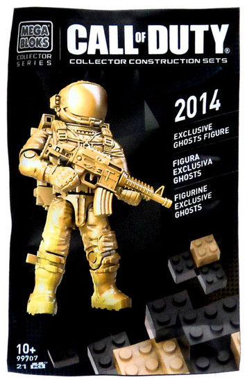Mega Bloks Call of Duty 2014 Ghosts Exclusive Mini Figure Set #99707