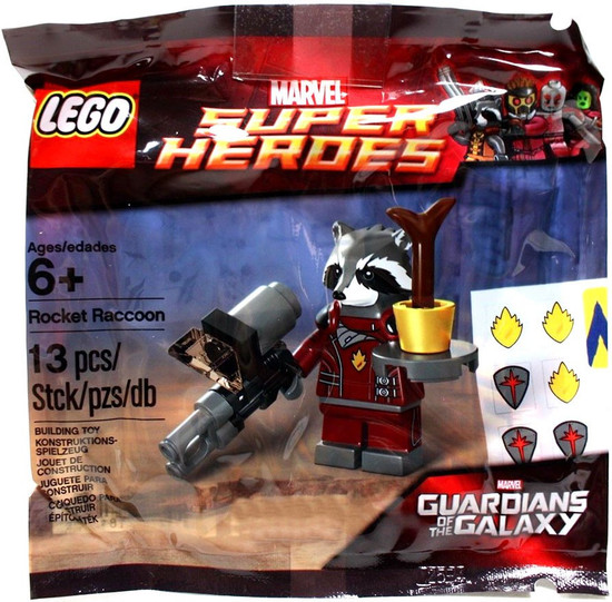 LEGO Marvel Super Heroes Guardians of the Galaxy Rocket Raccoon Exclusive Set #5002145 [Bagged]