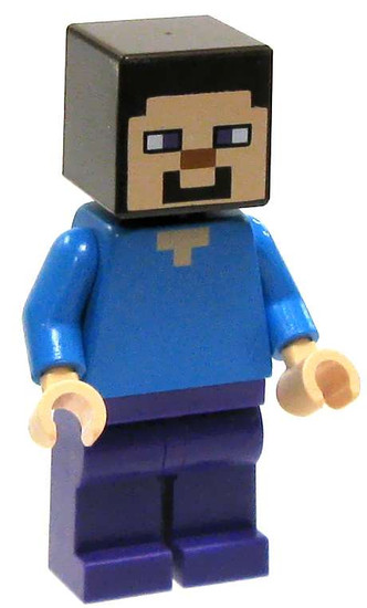 LEGO Minecraft Steve Minifigure [Loose]
