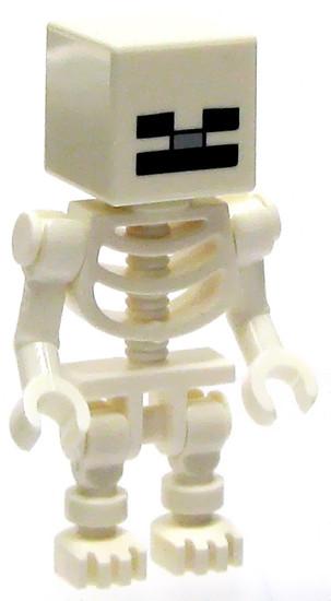 LEGO Minecraft Skeleton Minifigure [Loose]