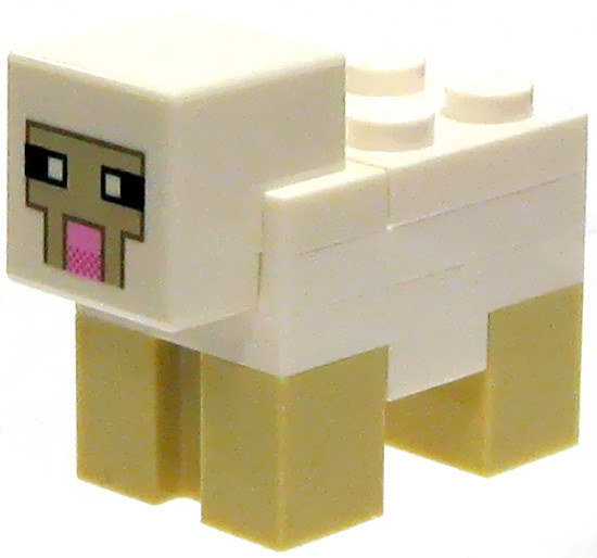 LEGO Minecraft Sheep Minifigure [Loose]