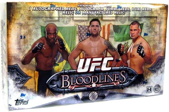 UFC Ultimate Fighting Championship 2014 Bloodlines Trading Card HOBBY Box [10 Packs]
