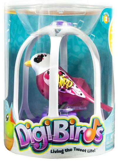 DigiBirds Graffitti Bird with Bird Cage