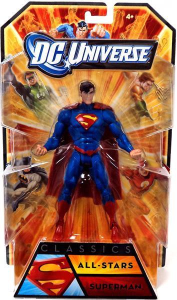 abdc865bdb1d DC Universe All-Stars Classics Superman 6 Action Figure New 52 ...