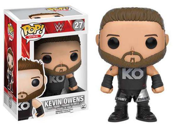 2cb5409e930 Funko WWE Wrestling Funko POP Kevin Owens Vinyl Figure 27 - ToyWiz