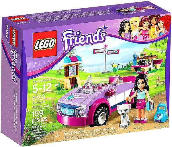 Set41013damaged Sports Package Lego Car Emma's Friends nXOPwk80