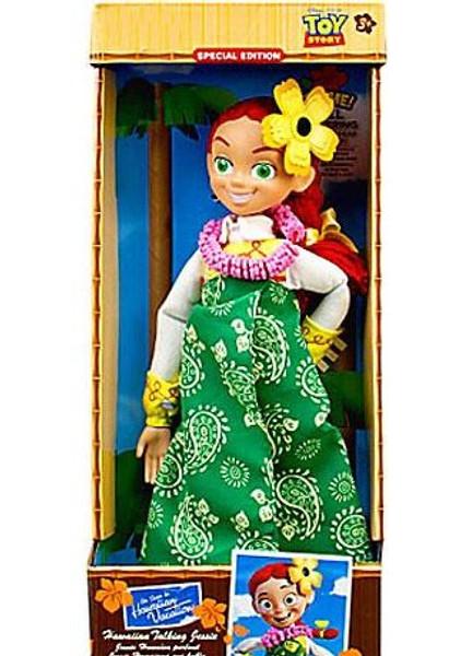 cd64b612ba Disney Toy Story Jessie Exclusive 16-Inch Doll  Hawaiian Vacation Talking