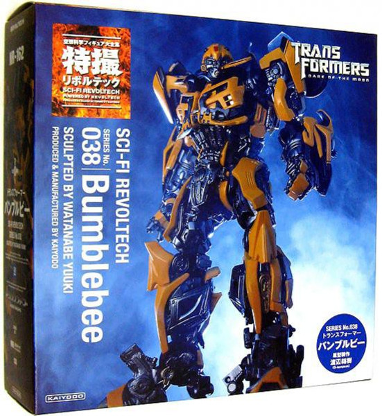 Transformers Dark of the Moon Sci-Fi Revoltech Bumblebee Super Poseable  Action Figure #038
