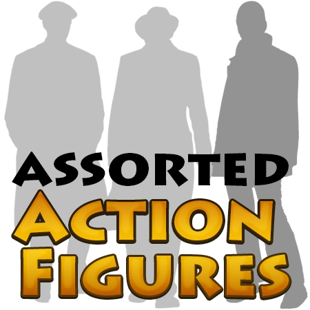 Assorted Action Figures