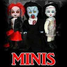 Living Dead Dolls Minis, Plush & Resurrection