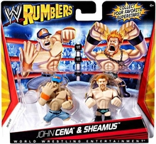 Mattel WWE Rumblers & Mighty Minis