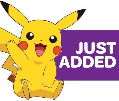 Pokemon Just Added!