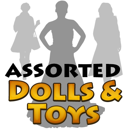 Assorted Dolls & Girls Toys