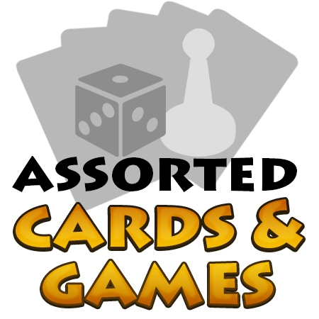 Assorted Cards & Games