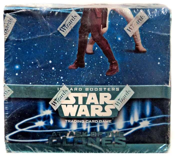Universe 24 Booster Star Wars - Deutsch Display TOPPS Force Attax