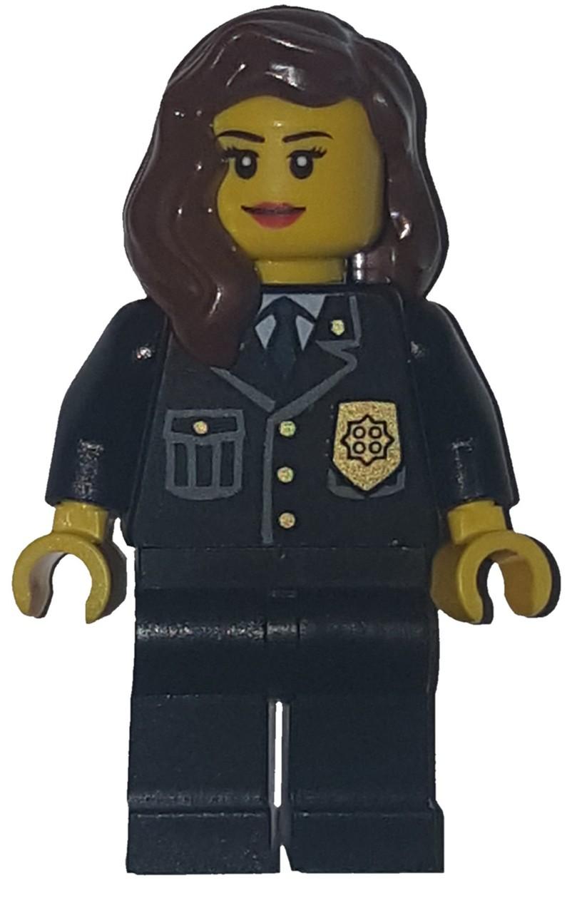 Lego City Fire Woman Type 1 Minifigure NEW
