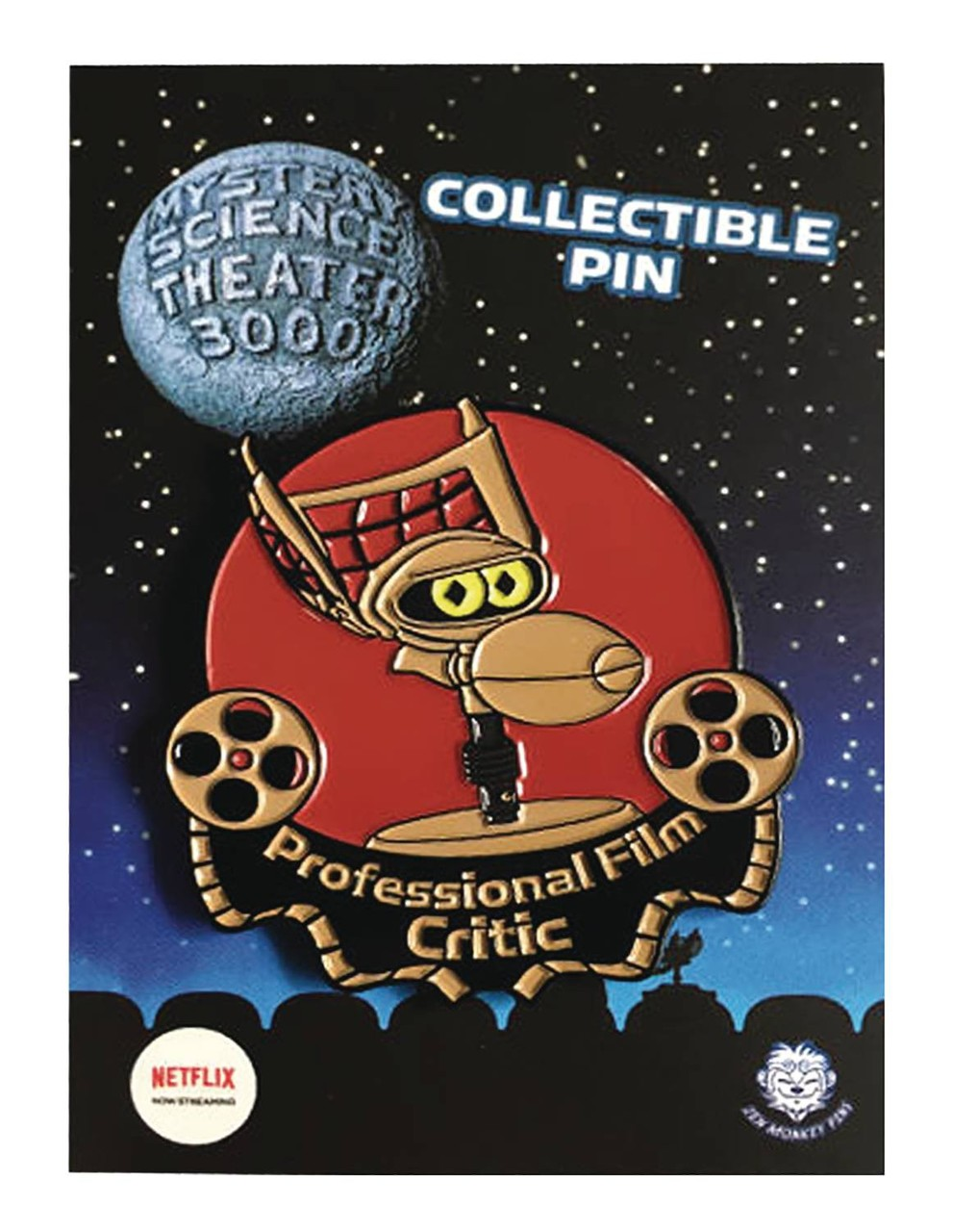 Mystery Science Theater 3000 Crow T Robot 1 5 Film Critic Pin Zen