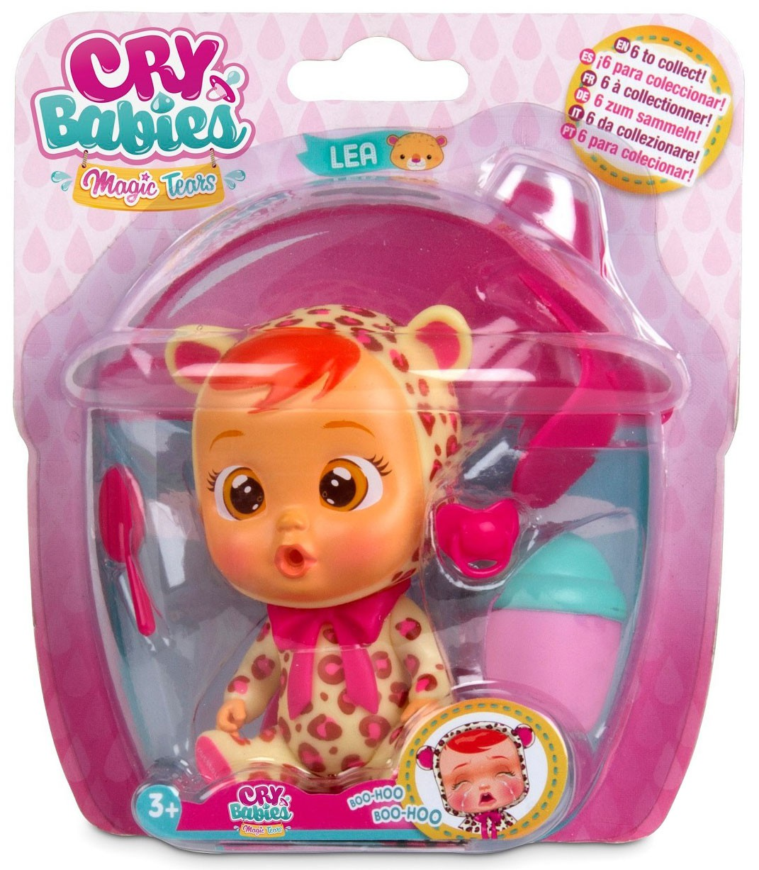 Fast ship *New* Cry Babies Magic Tears LaLa Mini Doll