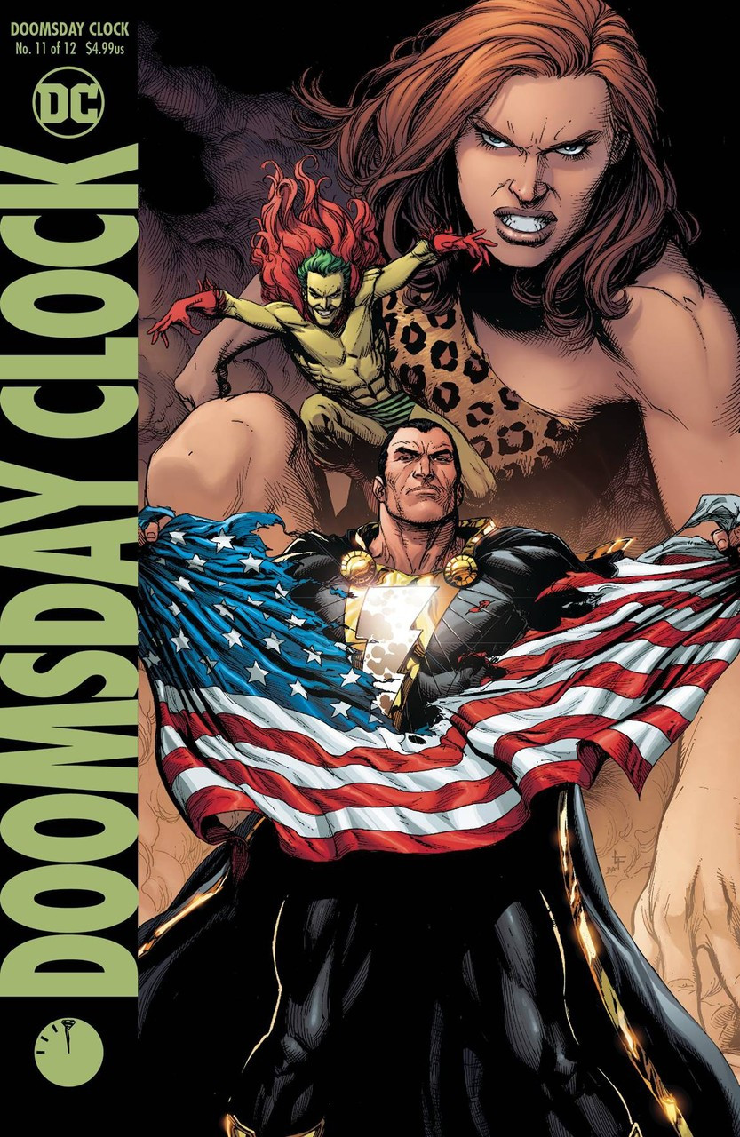 Dc Doomsday Clock Comic Book 11 Gary Frank Variant Cover Dc Comics