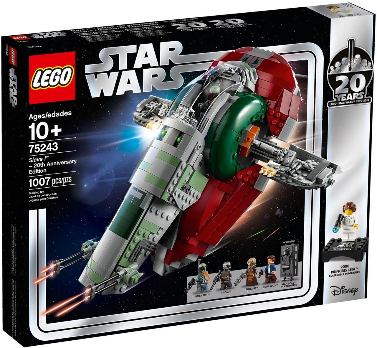 LEGO STAR WARS Boba Fett MINIFIG new from Lego set #75243