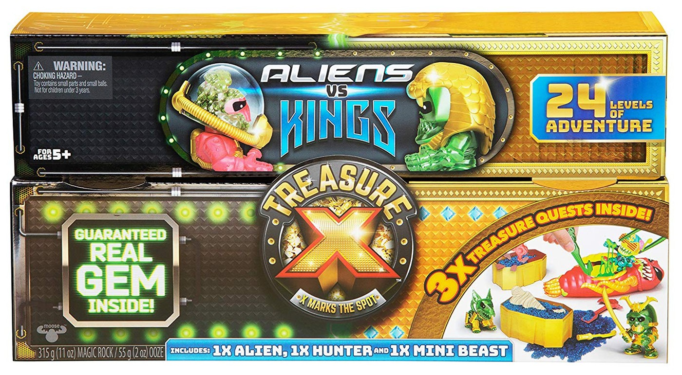NEW Treasure X 3-Pack Chest Adventure Action Figure Pack