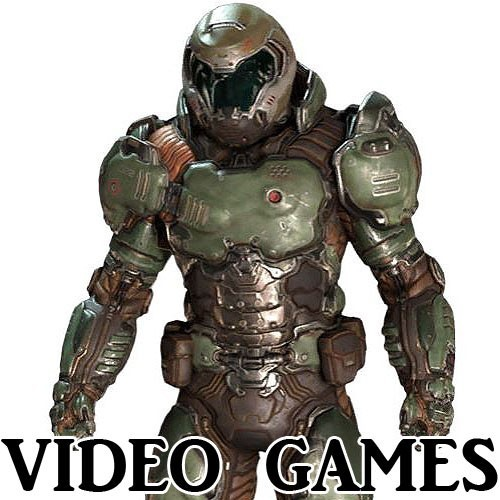 Assorted Video Game Figures