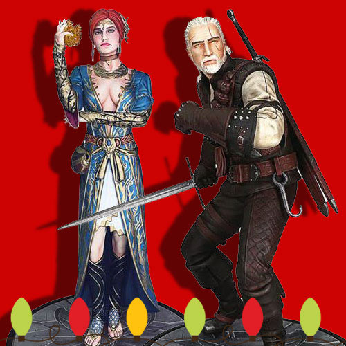 New Witcher Figures
