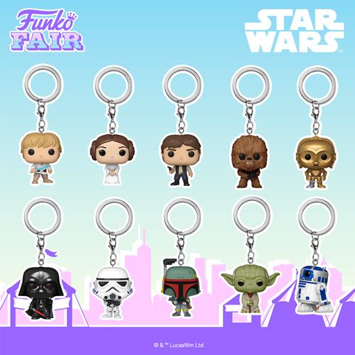 Star Wars Funko Pop Keychains
