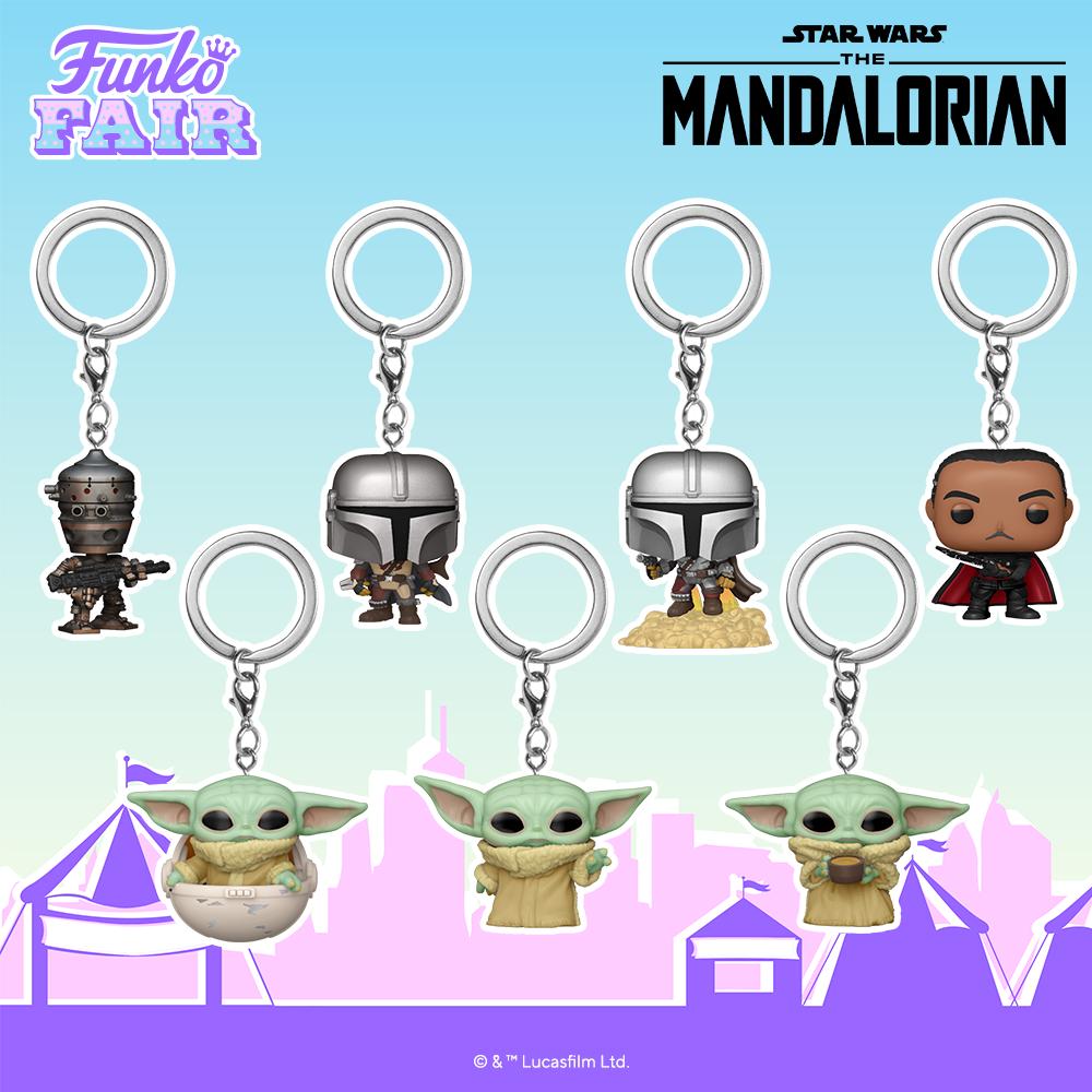 Mandalorian Pops