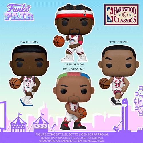 Funko NBA Legends Pops