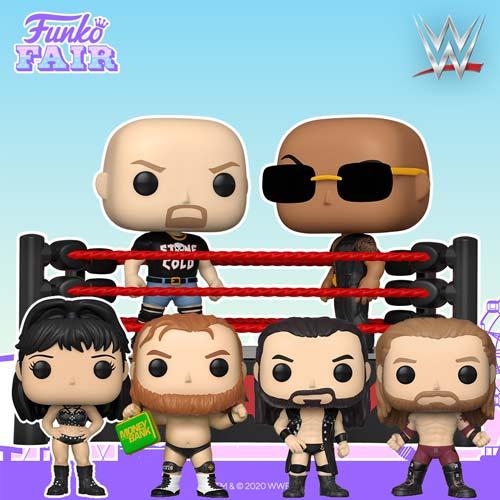 WWE Funko Pops