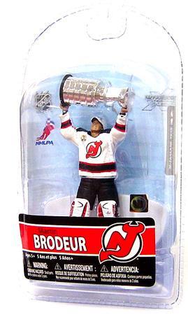 McFarlane Toys NHL New Jersey Devils Sports Picks 3 Inch Mini Series 5 Martin  Brodeur Mini 85f13f317
