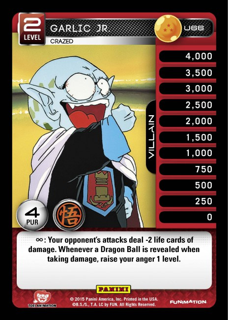 Dragon Ball Z Ccg Movie Collection Single Card Uncommon Garlic Jr Crazed U66 Toywiz Refine see titles to watch instantly, titles you haven't rated, etc. panini