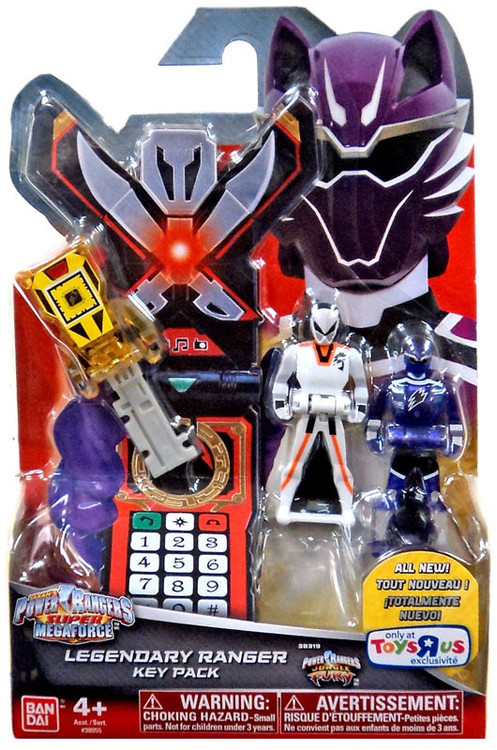 Power rangers super megaforce legendary ranger key pack - Power rangers megaforce jungle fury ...