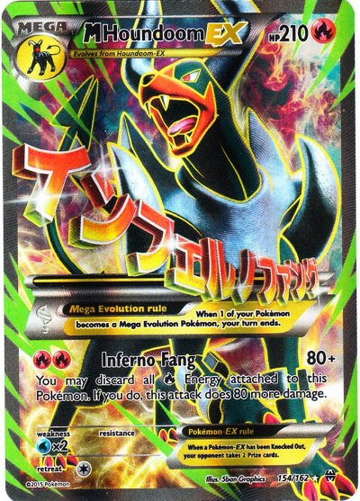 Pokemon X Y Breakthrough Single Card Ultra Rare Full Art Mega