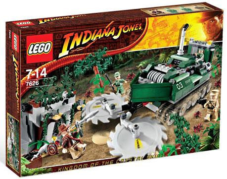 LEGO Indiana Jones Jungle Cutter Set 7626 - ToyWiz 63577b108fe