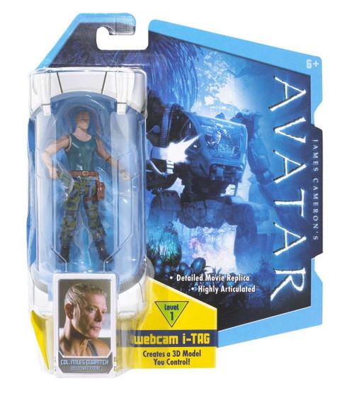 James Camerons Avatar Colonel Miles Quaritch 3.75 Action