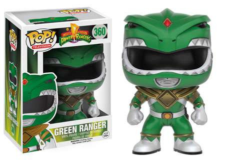 0d6b5e2060e Funko Power Rangers Funko POP TV Green Ranger Vinyl Figure 360 - ToyWiz